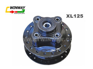 Ww-6379 Motorcycle Part, Black, XL150 Front Hub, pictures & photos