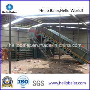 Auto Horizontal Hydraulic Occ Oinp Waste Paper Baler with CE pictures & photos