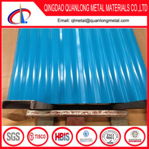 ASTM A792 Colored Corrugated Roofing Sheet pictures & photos