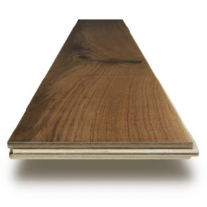 Foshan Factory Stock American Black Walnut Engineered Wood Flooring pictures & photos