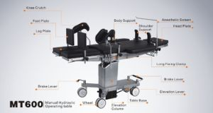 Manual Hydraulic Operating Table Mt600 with CE Approval pictures & photos