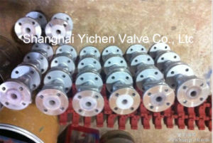 PFA Lined Stainless Steel Ball Valve (Q41PFA) pictures & photos