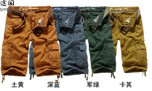 Men Cargo Fashion Board Cotton Washed Pocket Shorts pictures & photos