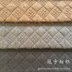 Decorative Quilt Treatment Home Textile Fabrics pictures & photos