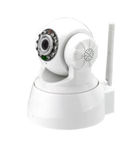 2.4G Wireless Indoor PTZ Camera with  P2P ONVIF Function (HX-W2) pictures & photos