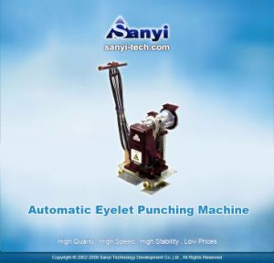 Automatic Eyelet Puncher pictures & photos