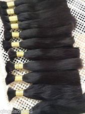 Hair Bulk 100% Human Hair Brazilian Virgin Hair Extensions