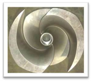 Stainless Steel Pump Impeller (Semi-open)