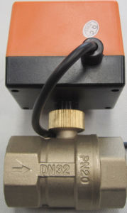 Motorized Ball Valve (BS-868-32) pictures & photos