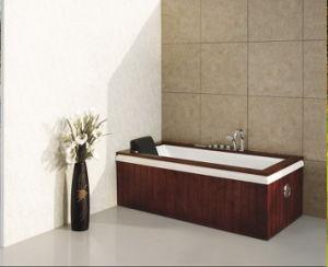 Indoor Corner Whirlpool Jacuzzi Massage Bathtub Acrylic Tub pictures & photos
