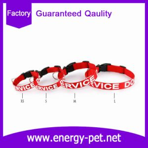 Custom Printed Logo Polyester Nylon Pet Collar pictures & photos