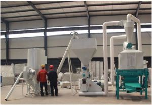 Popular 1ton Per Hour Ring Die Animal, Chicken, Poultry and Livestock Feed Production Plant Manufacturer