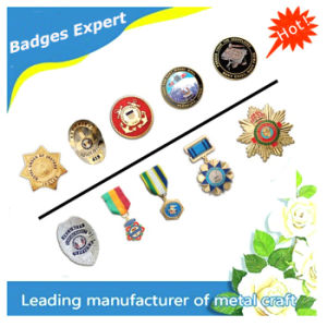 Free Sample Customized Metal Badge