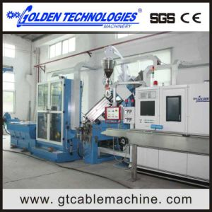 High Output Electric Cable Wire Extruder Machine pictures & photos