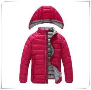 Hooded Light Winter Fashion Down Jacket for Men pictures & photos