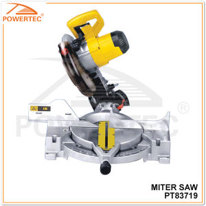 Powertec 1800W 255mm Electric Miter Saw (PT83719) pictures & photos