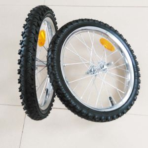 16inch Inflatable Bike Trailer Wheel pictures & photos