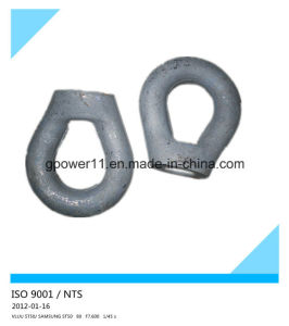 Us Type Eye Nut G400 Hot Dipped Galvanized pictures & photos