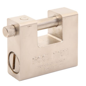 Good Quality Stainless Steel Rectangle Padlock 008 pictures & photos