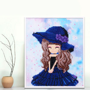 Factory Direct Wholesale Children DIY Crystal Oil Painting Kids Toy K-004 pictures & photos