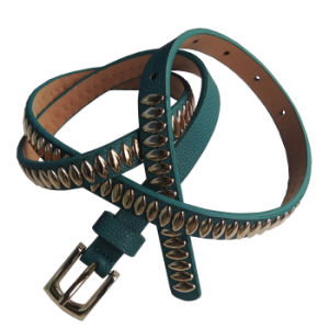 Fashion PU Leather Belt for Decoration (BE-13002) pictures & photos