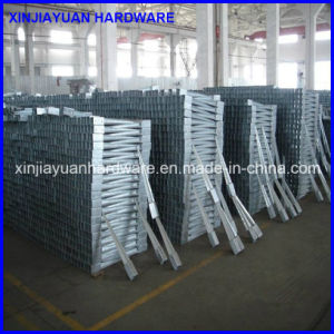 Wholesale Top Quality White Zinc Metal Pole Anchor pictures & photos