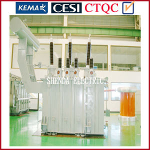 Distribution Transformer with Three-Phase Oil-Immersed Toroidal Two-Winding Type Transformer