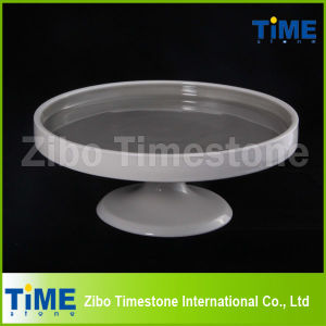 3 Size Set Ceramic Cake Display Stand of Stoneware Material (TMM15072801) pictures & photos