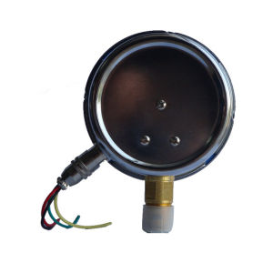 100mm Vacuum Chrome Plate Electric Contact Pressure Gauge pictures & photos