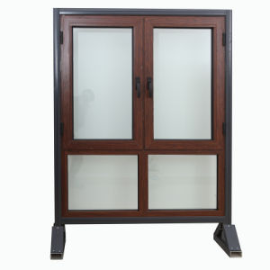 Cheap New Design Models Double Glass French Used Aluminum Window