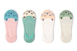 Lattest Fashion Animal Face Women Cotton Boat Sock pictures & photos