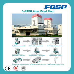 Top Class 5-8tph Aqua Feed Processing Equipment Production Line pictures & photos
