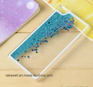 New Product Hard PC Liquid Star Sand Case for Huawei P8/P8 Lite P8 Mini Quicksand Cell Phone Cases pictures & photos
