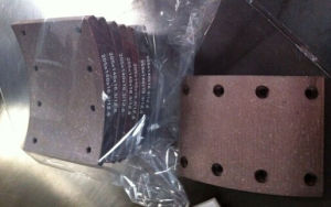205X140X16.3/12.5 Brake Lining for Russia Kamaz and Maz pictures & photos