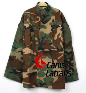 Durable War Game Combat Army Battle Dress Uniform Hunting Bdu Camouflage Coat Military Clothes Cl34-0003 pictures & photos