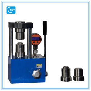 Hydraulic Crimping Machine for All Cr Coin Cells / Coin Cell Crimping Machine pictures & photos