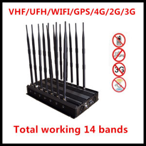 Newest Cellphone Jammer/WiFi Jammer/GPS Jammer/4G Signal Jammer pictures & photos