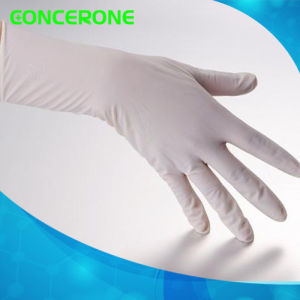 Medical Disposable Sterilized Latex Surgical Gloves with Powder pictures & photos