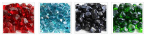 Irreguliar Shape Glass Beads for Decoration pictures & photos