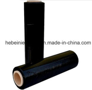 LLDPE Stretch Handy Use Blue Black Stretch Wrap Film pictures & photos