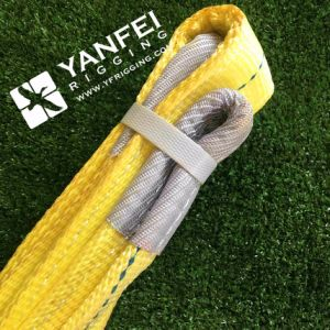 ASME B30.9 3ton Yellow 5: 1 Polyester Webbing Sling pictures & photos