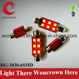 6 SMD Auto LED Car Lighting Bulb pictures & photos