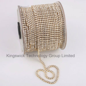 Crystal Metal Decoration Newly Type Cup Chain pictures & photos