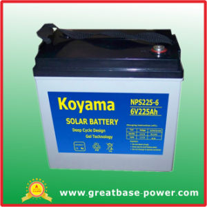 Solar System Wind Energy System Power Battery 225ah 12V pictures & photos