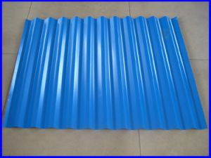 Color Coated Galvanized Corrugated Steel Sheet with Best Quality pictures & photos