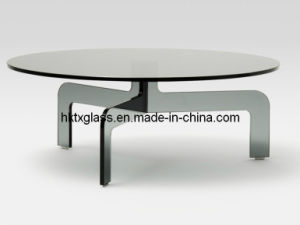 Tempered Glass Round Table Top with AS/NZS2208: 1996, BS6206, En12150 Certificate pictures & photos