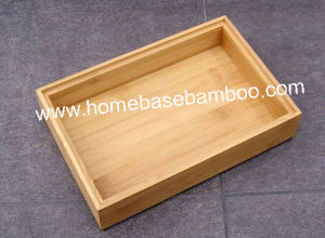 Bamboo in Drawer Storage Box Tray (Stackable Box) Hb5007 pictures & photos