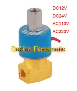1/4′′ DC231-Y-08 Electric Solenoid Valve 3/2 Way Direct Acting Valve Ksd DC12V, DC24V, AC110V or AC220V