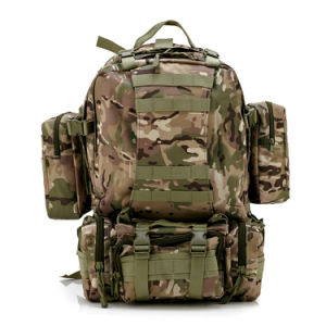 Military Combat Tactical Backpacks Outdoor Traveling Camping Bag Hiking Mixed Color Backpack