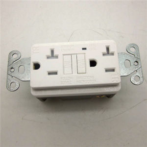 Hot Sales Ivory GFCI Receptacle pictures & photos